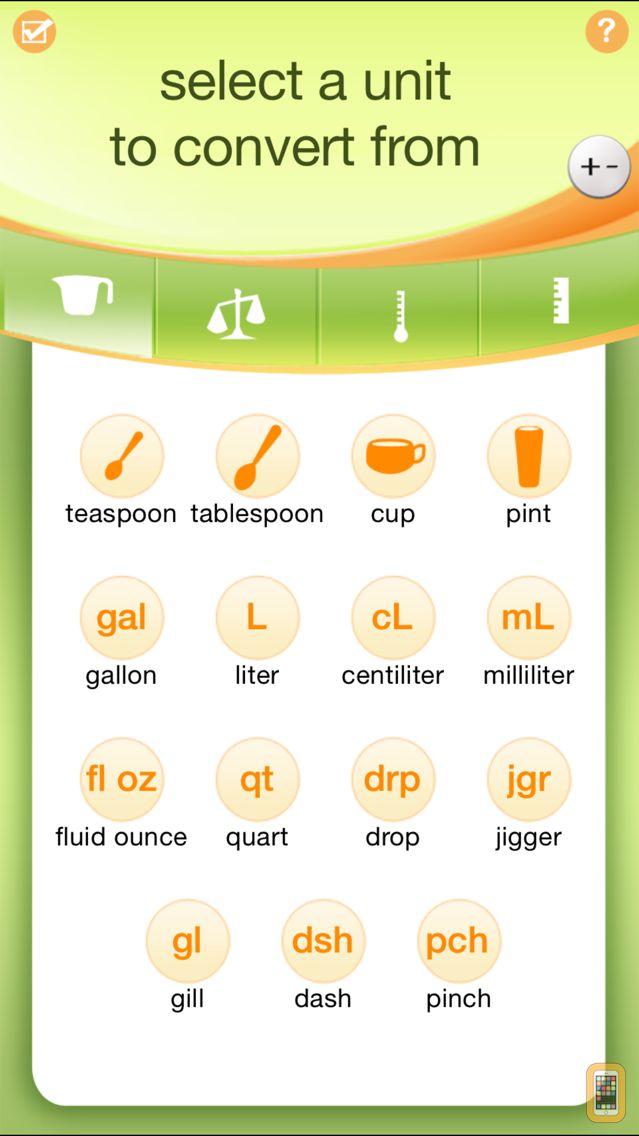 Screenshot - Kitchen Calculator PRO