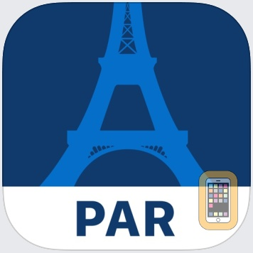 Paris Travel Guide and Offline City Map by FUA Travel Guides Media B.V. (Universal)