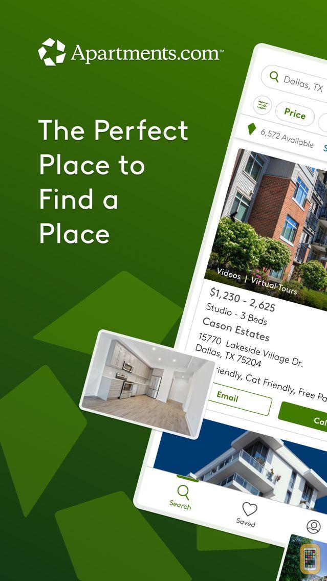 Screenshot - Apartments.com Rentals