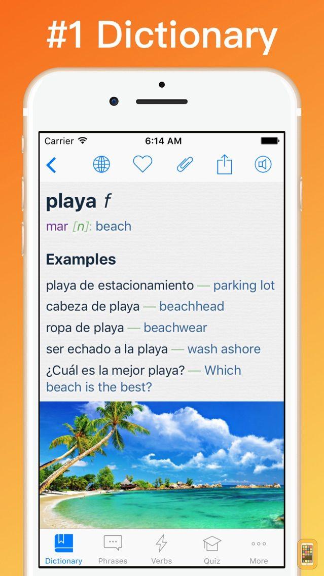 Screenshot - Spanish Dictionary + VL