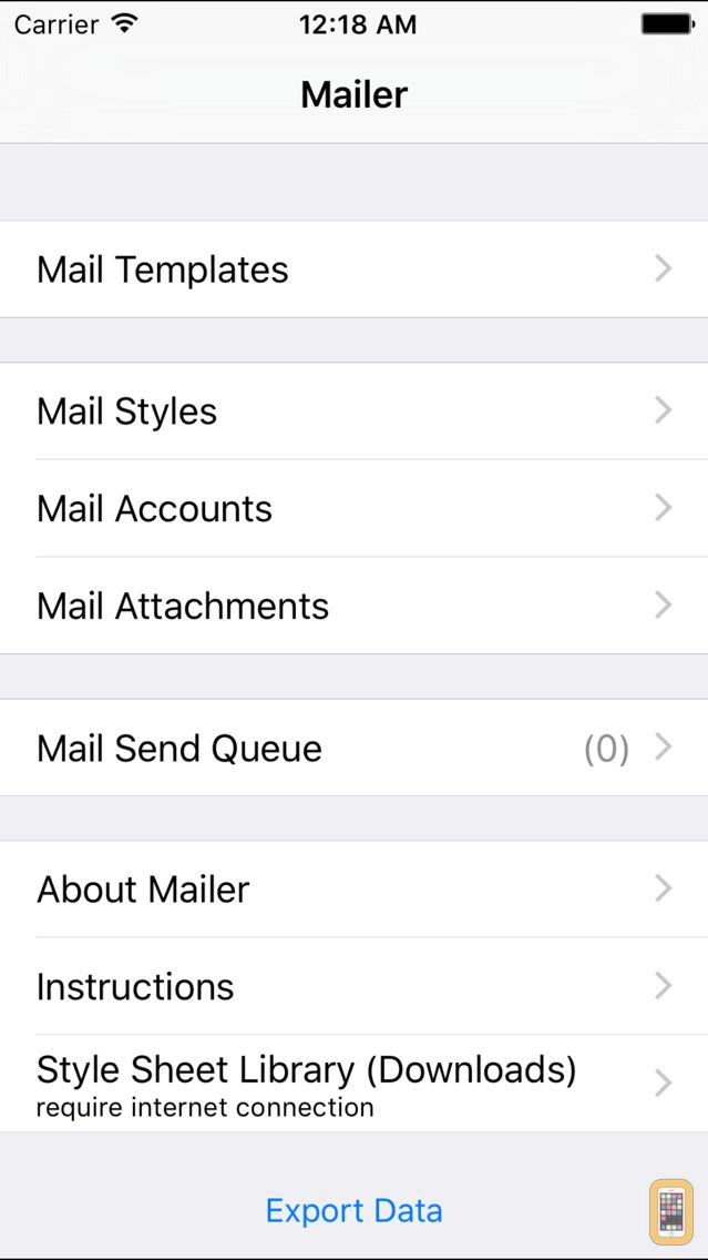 Screenshot - Mailer - Newsletters and Group Mail with HTML