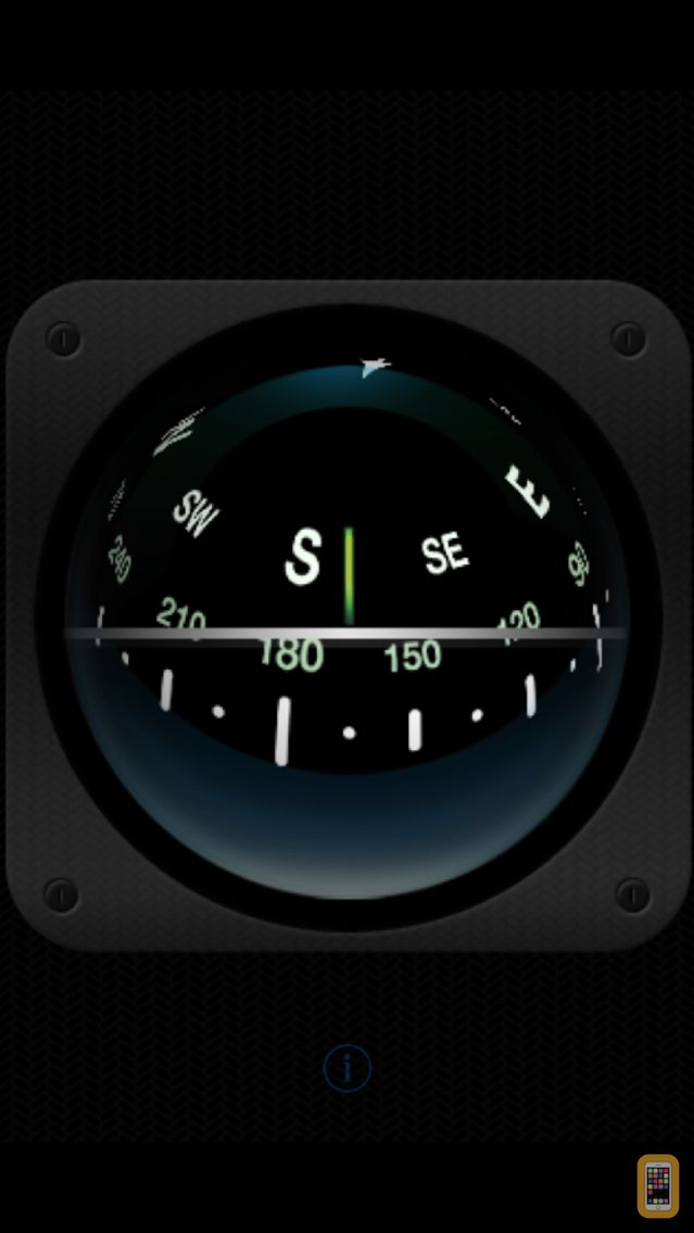 Screenshot - 3D Sailing Compass