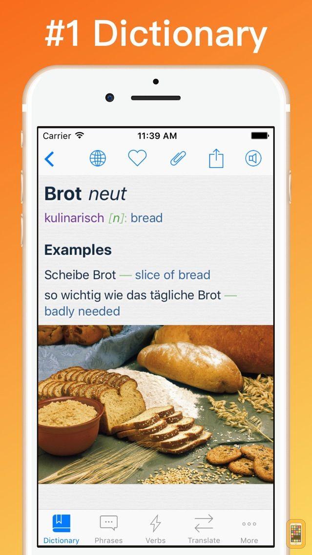 Screenshot - German Dictionary Translator +