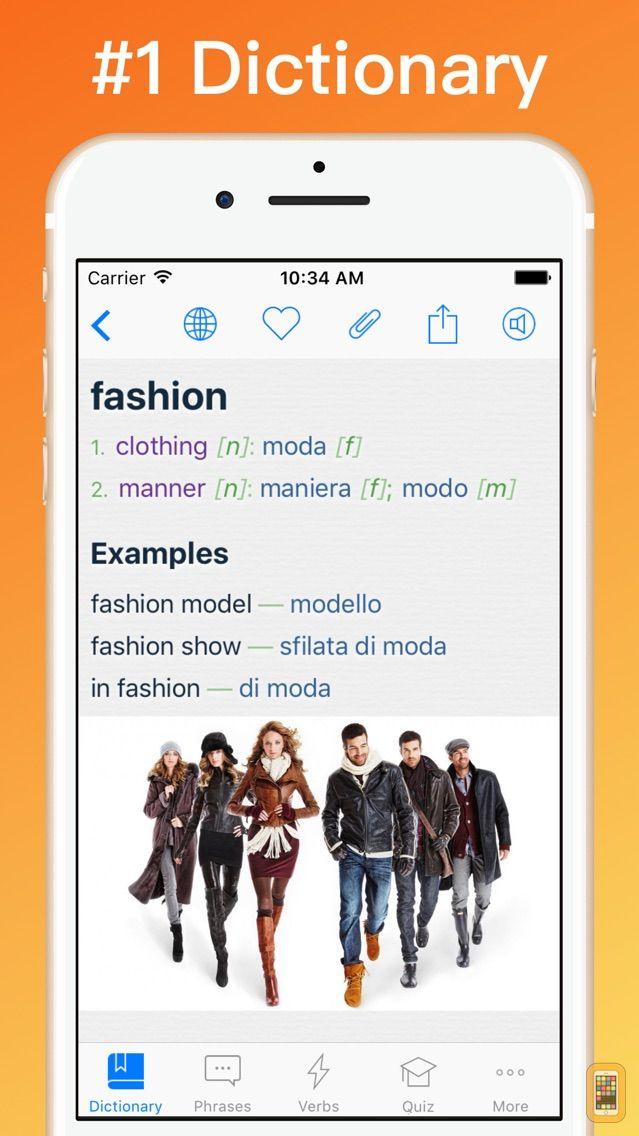 Screenshot - Italian Dictionary + ©