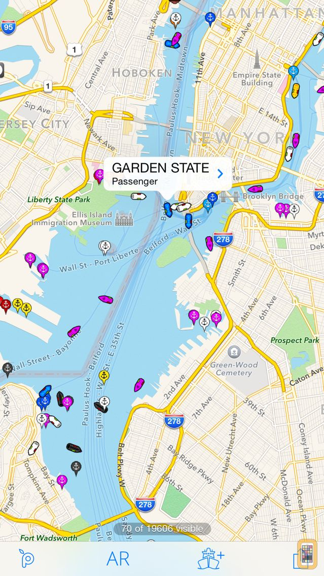 Screenshot - Ship Finder Lite