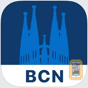 Barcelona Travel Guide and Offline City Map by FUA Travel Guides Media B.V. (Universal)