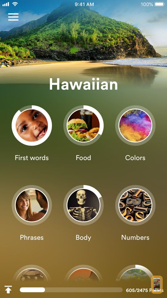 Screenshot - Learn Hawaiian - EuroTalk