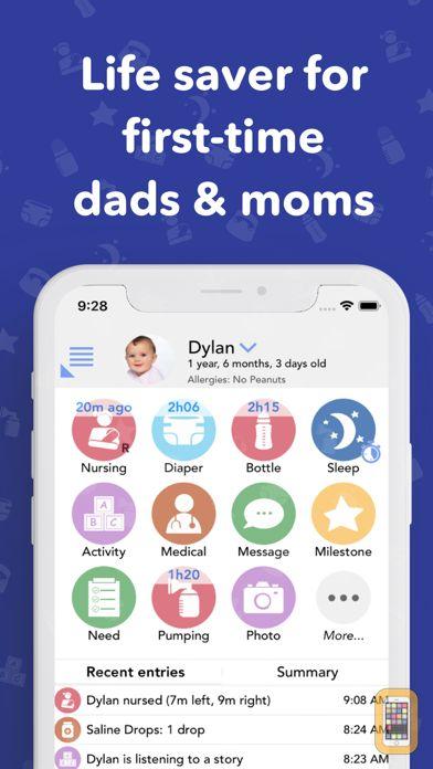 Screenshot - Baby Connect (Activity Log)