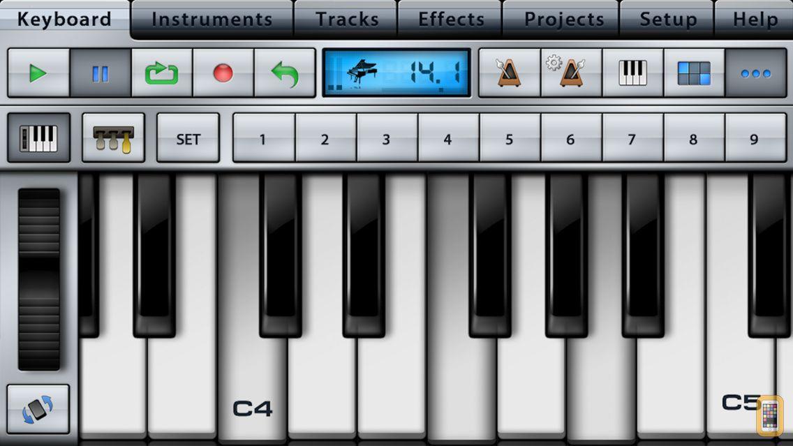 Screenshot - Music Studio