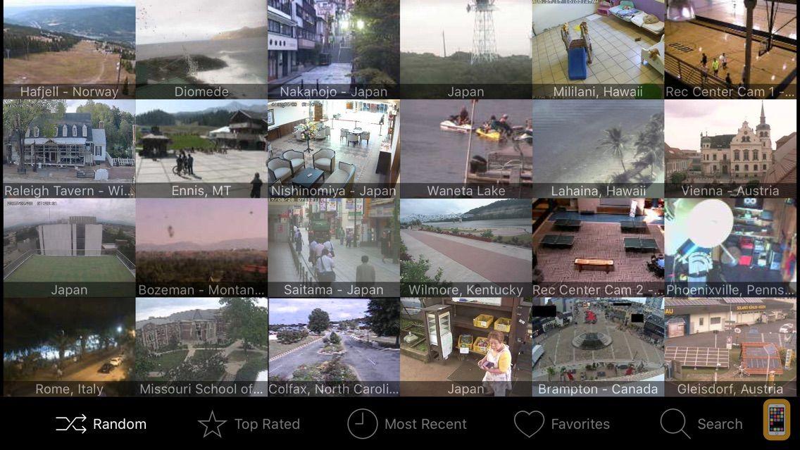 Screenshot - iSpy Cameras