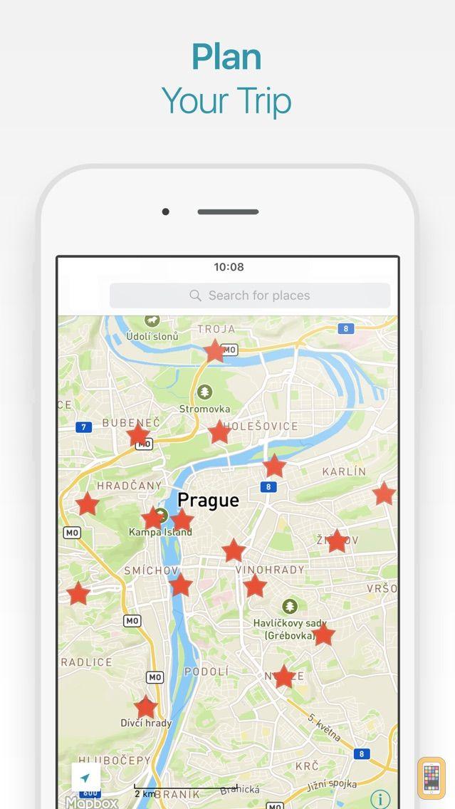Screenshot - Prague Travel Guide and Offline City Map