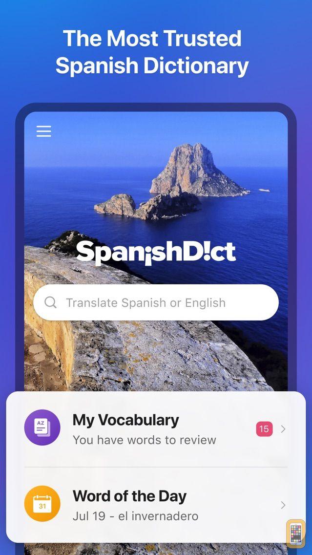 Screenshot - SpanishDict Translator