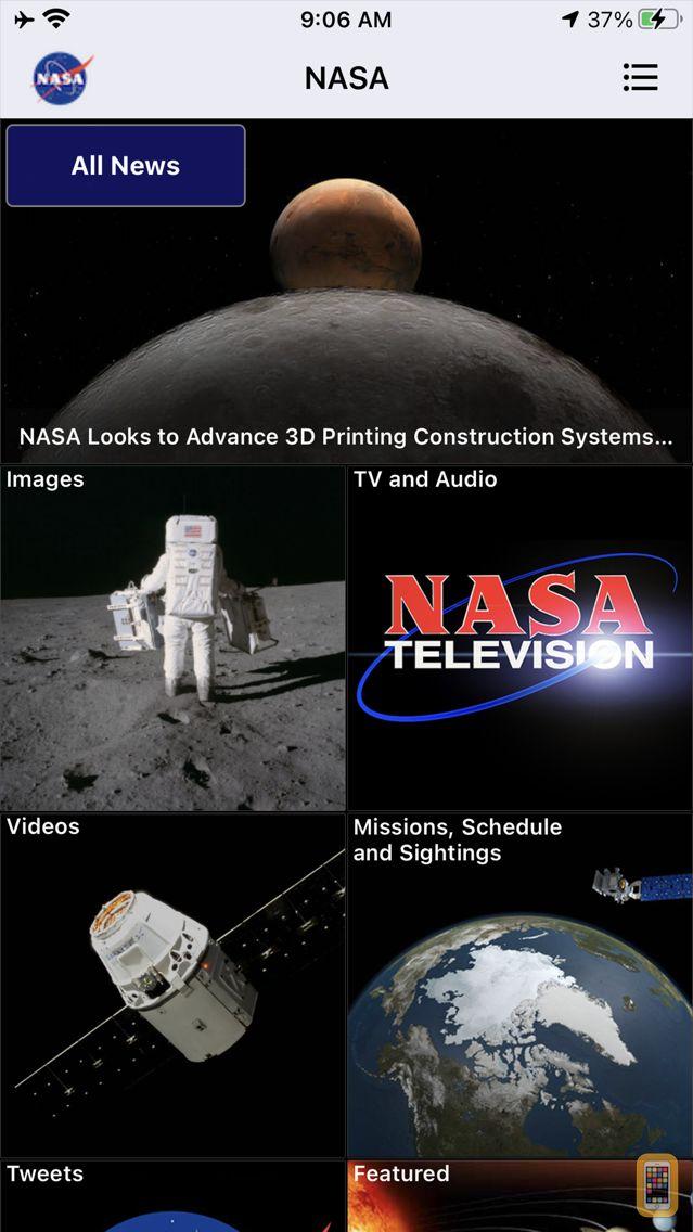 Screenshot - NASA