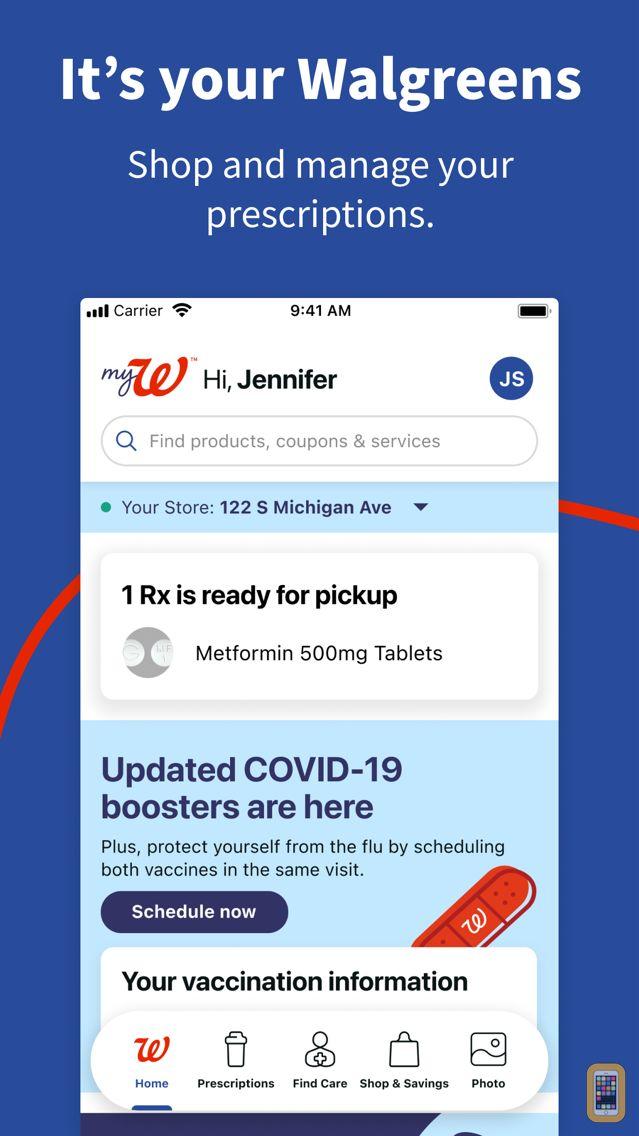 Screenshot - Walgreens