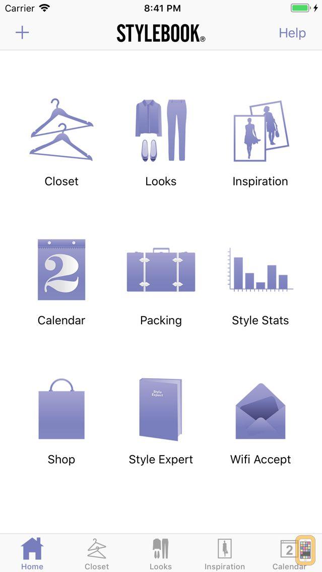 Screenshot - Stylebook