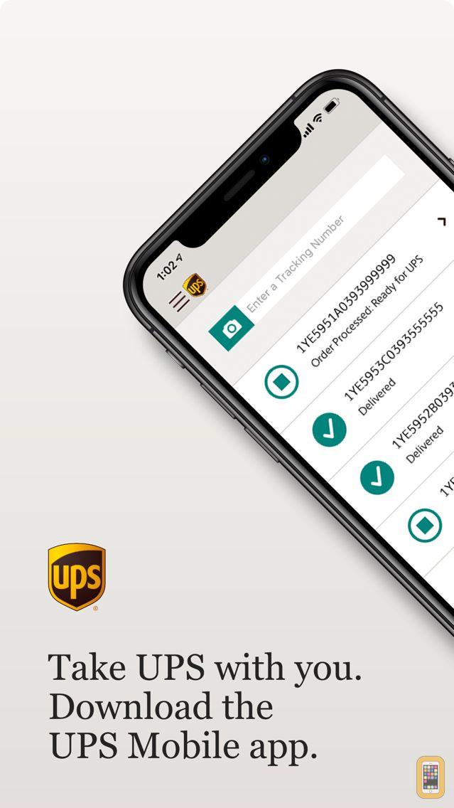 Screenshot - UPS Mobile