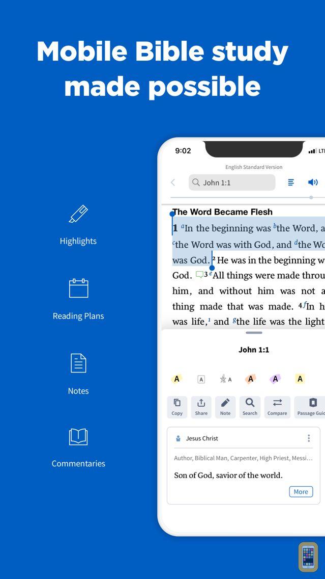 Screenshot - Logos Bible Study Tools