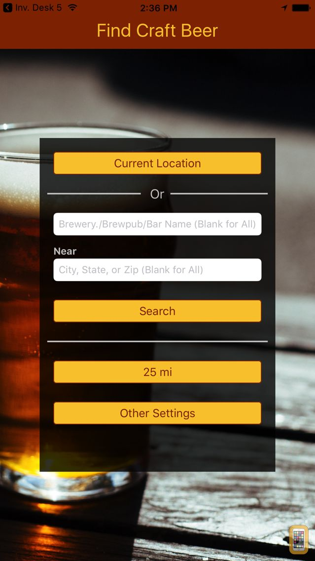 Screenshot - Find Craft Beer