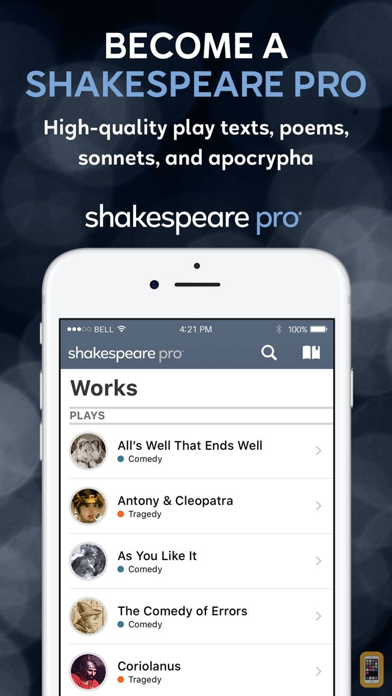 Screenshot - Shakespeare Pro