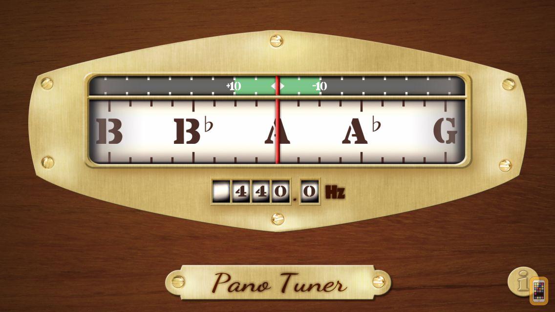 Screenshot - Pano Tuner - Chromatic Tuner