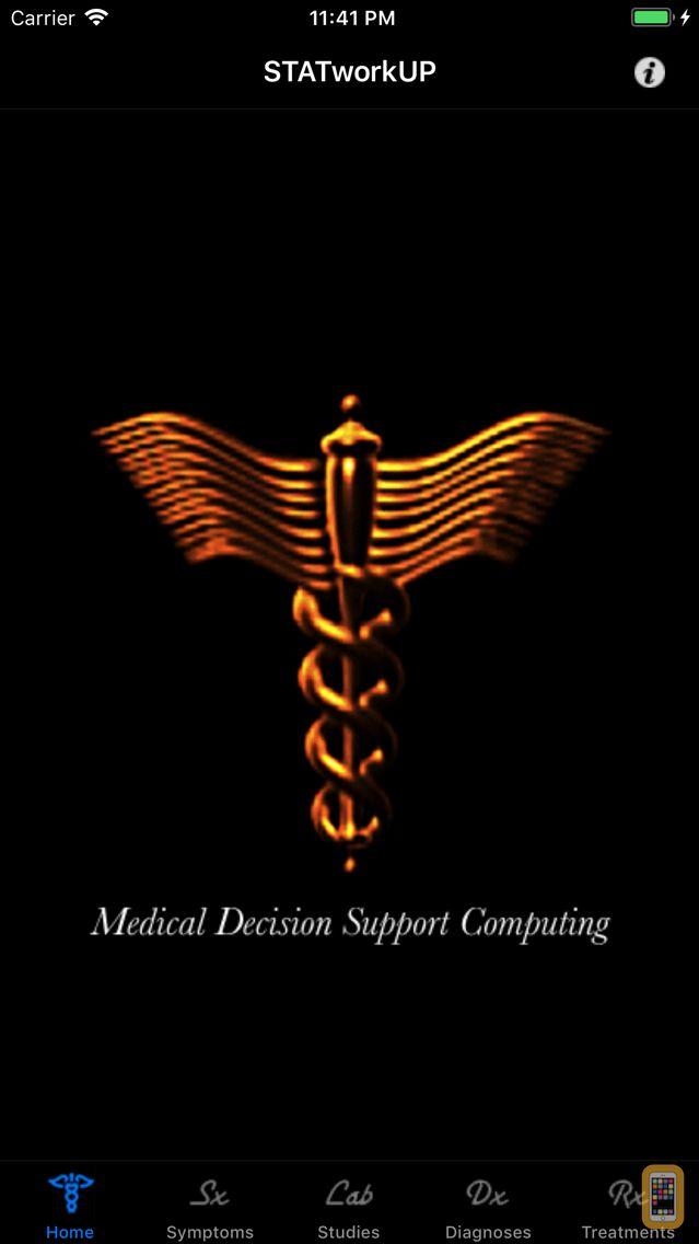 Screenshot - STATworkUP® DDx Clinical Guide
