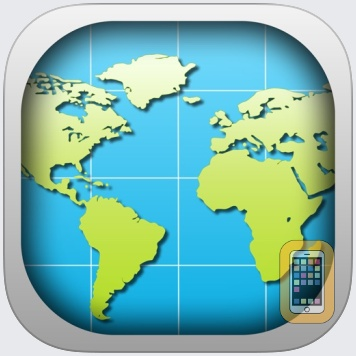World Map 2019 Pro by Appventions (iPhone)