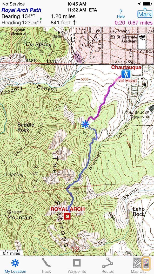 Screenshot - i Hike GPS : Topo Maps