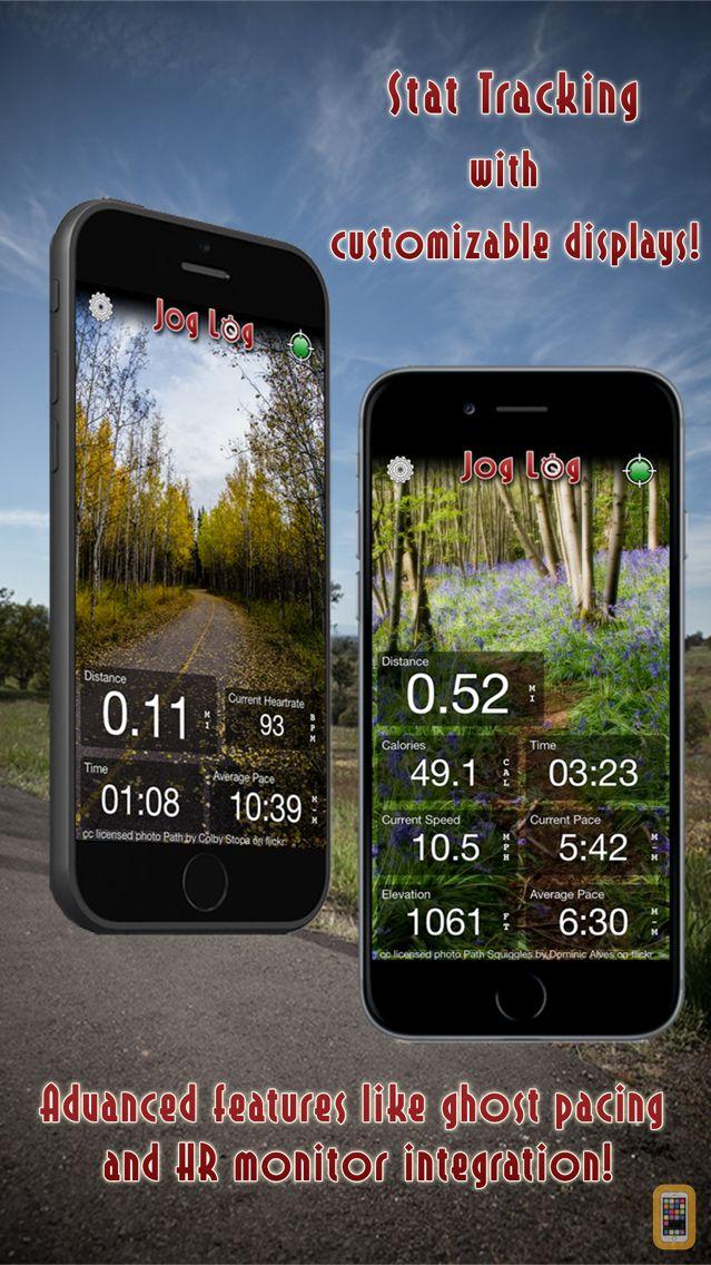 Screenshot - Jog Log - GPS Running, Walking, Cycling, and Workout Tracker