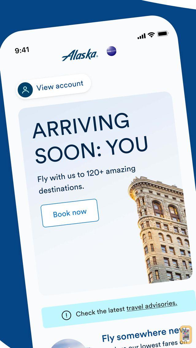 Screenshot - Alaska Airlines