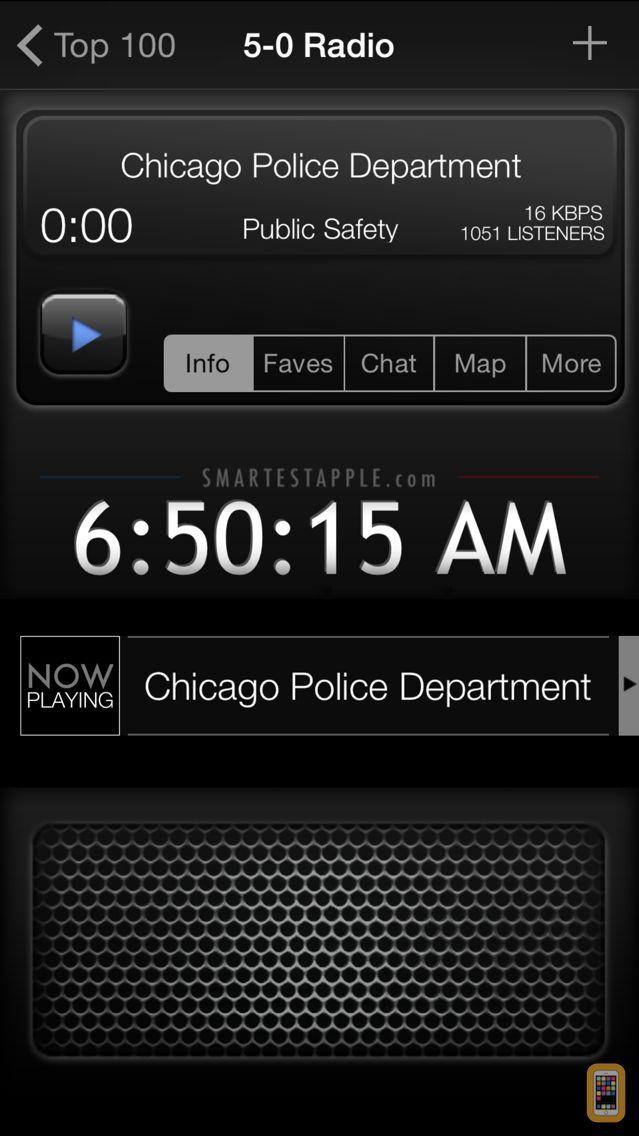 Screenshot - 5-0 Radio Police Scanner