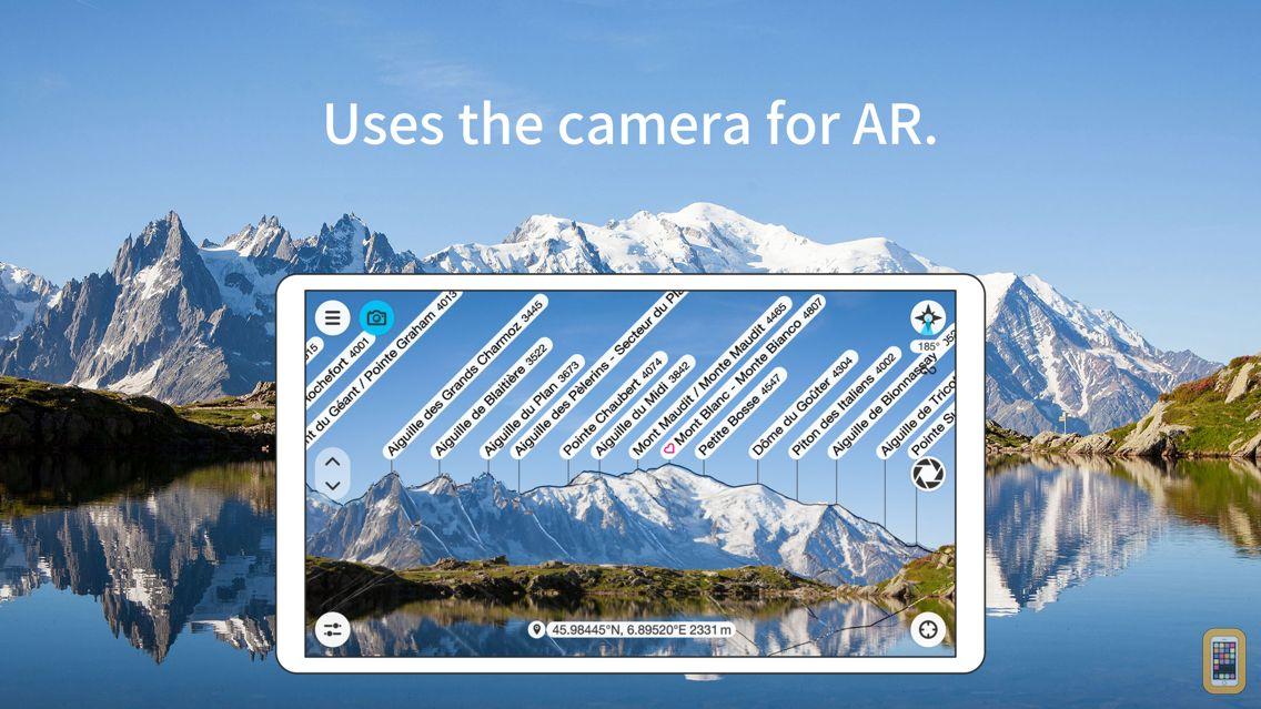 Screenshot - PeakFinder AR