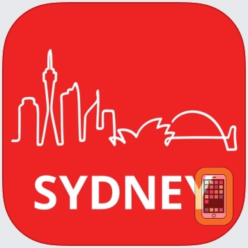 Sydney Travel Guide and Offline City Map & Metro by eTips LTD (Universal)