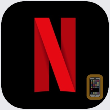 Netflix app picture in iphone