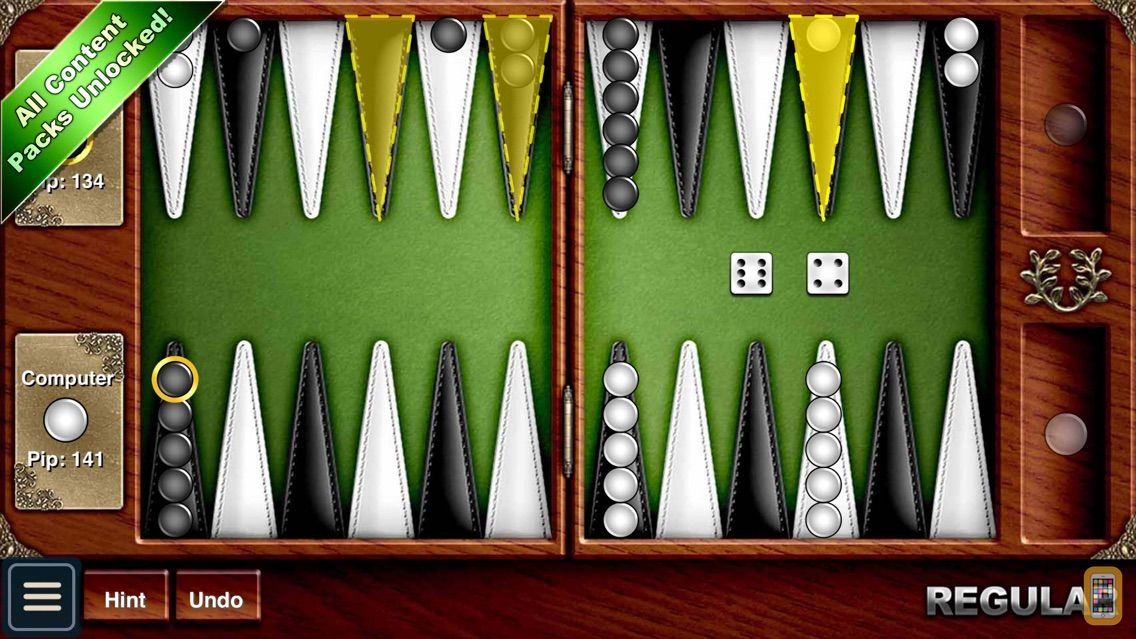 Screenshot - Backgammon HD