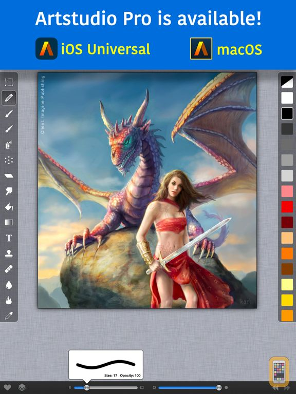 Screenshot - ArtStudio for iPad -Paint&Draw