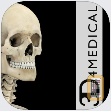 Skeleton System Pro III by 3D4Medical.com, LLC (iPad)