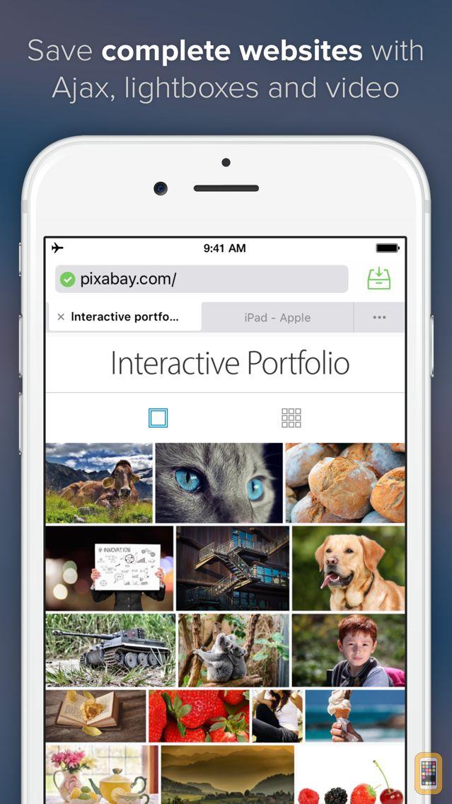 Screenshot - Offline Pages