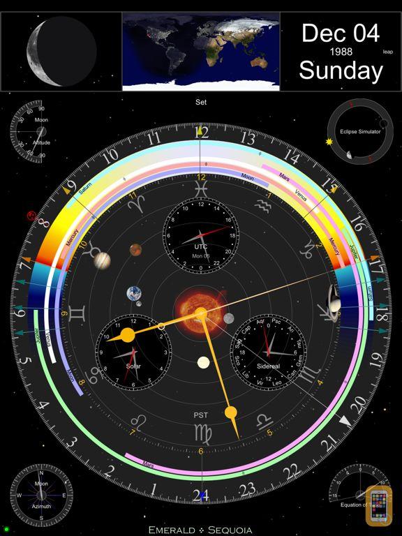 Screenshot - Emerald Observatory for iPad