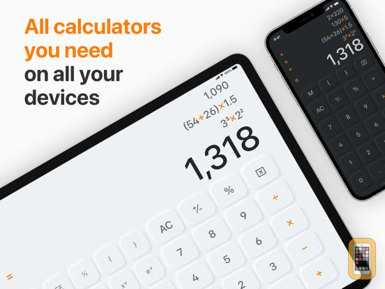 Screenshot - Calculator HD for iPad
