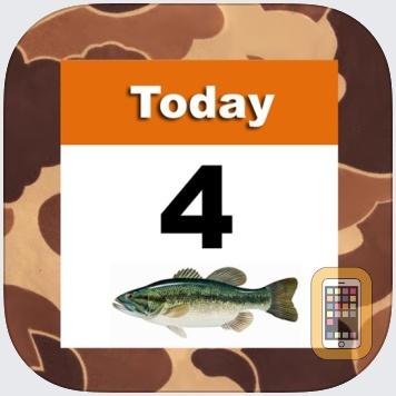 iSolunar™ Hunt & Fish Times by RedSnake Enterprises, LLC (iPhone)
