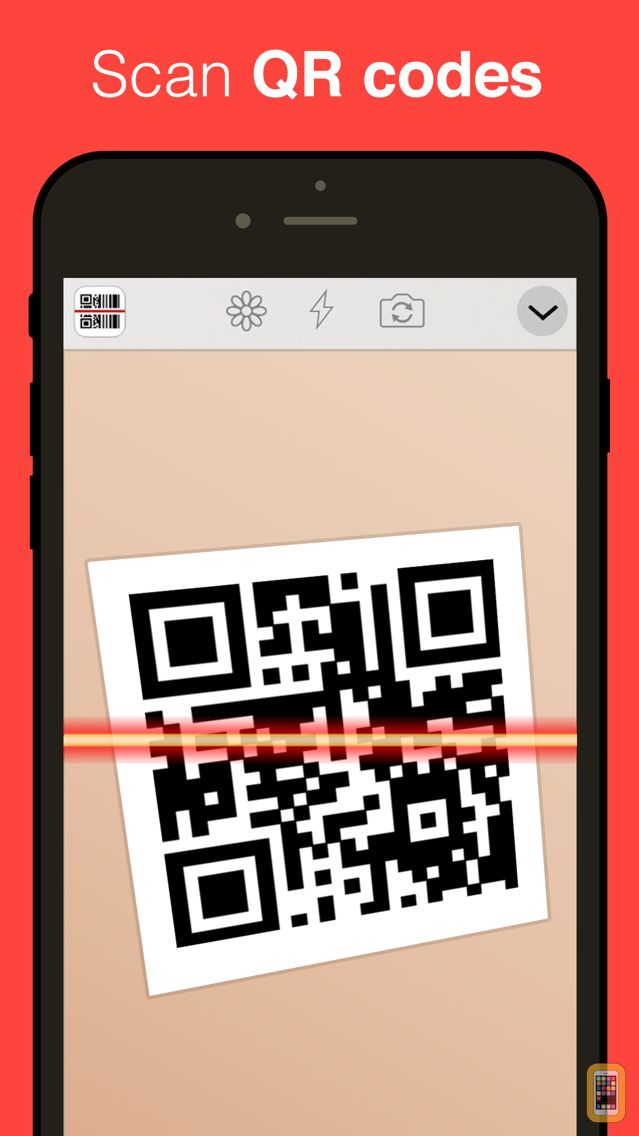 Screenshot - QR Reader for iPhone