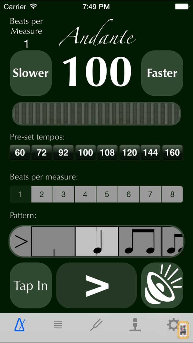 Screenshot - Metronome-Plus