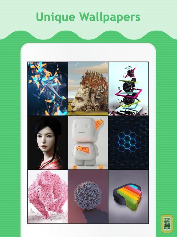 Screenshot - Best 3D Wallpapers & Backgrounds for iPad Retina & iPad Air