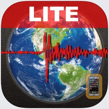 Earthquake Lite - Realtime Tracking App by Mobeezio, Inc. (Universal)