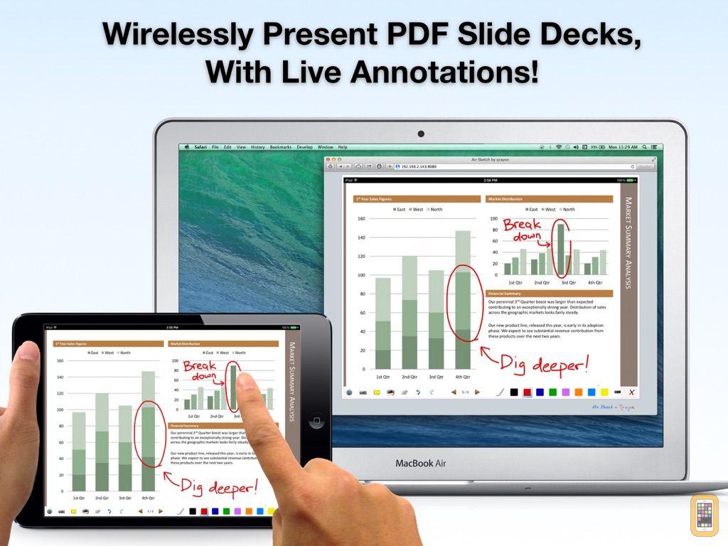 Screenshot - Air Sketch Wireless Whiteboard