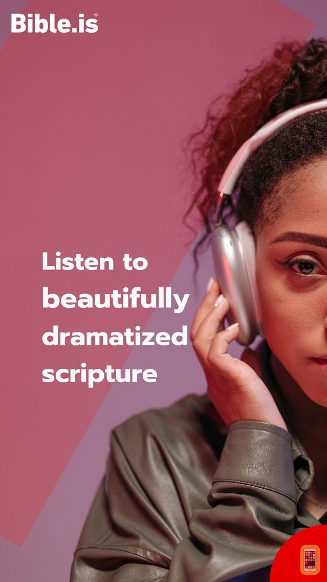 Screenshot - Bible.is - Audio Bibles