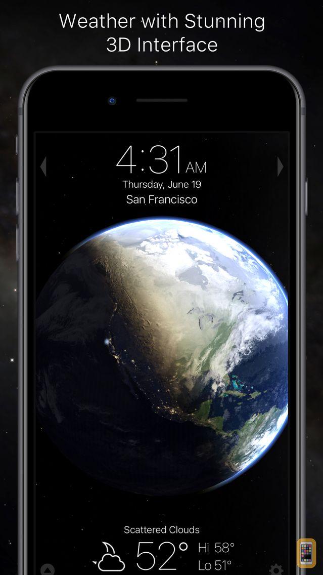 Screenshot - Living Earth - Clock & Weather