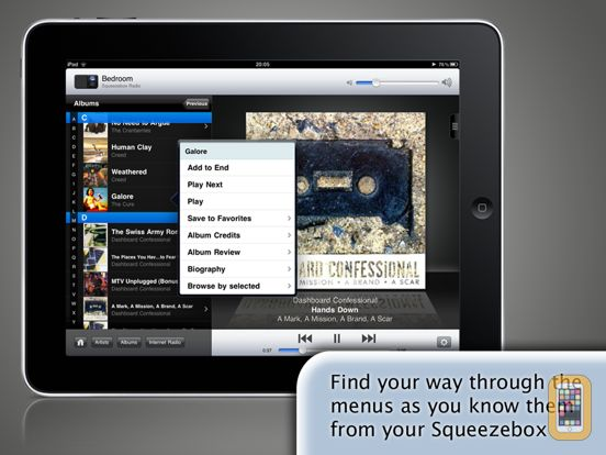 Screenshot - SqueezePad