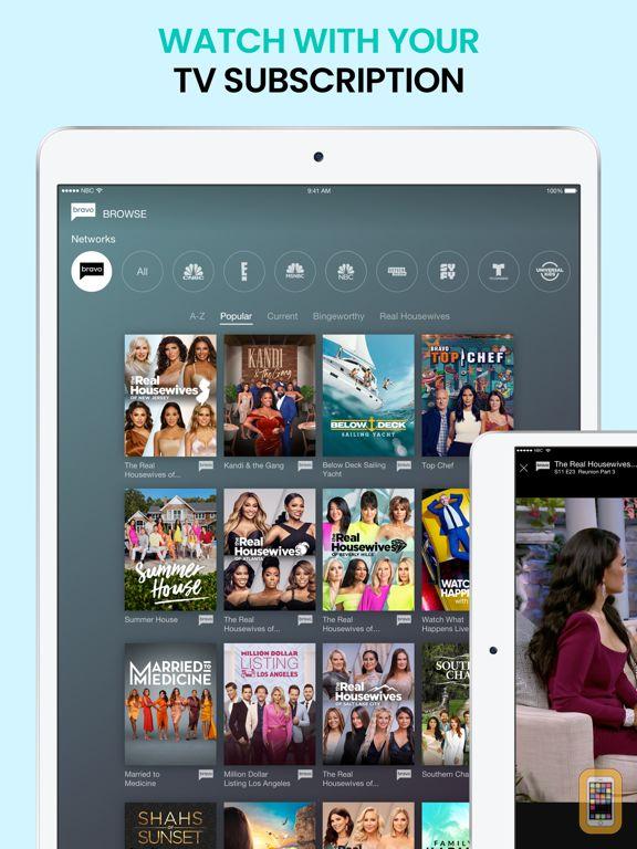 Bravo - Stream Shows & Live TV for iPhone & iPad - App Info & Stats
