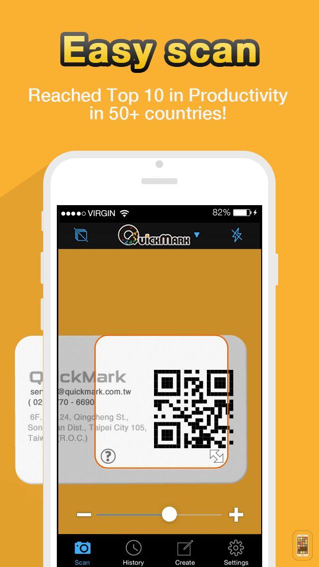 Screenshot - QR Code Reader - QuickMark Barcode Scanner